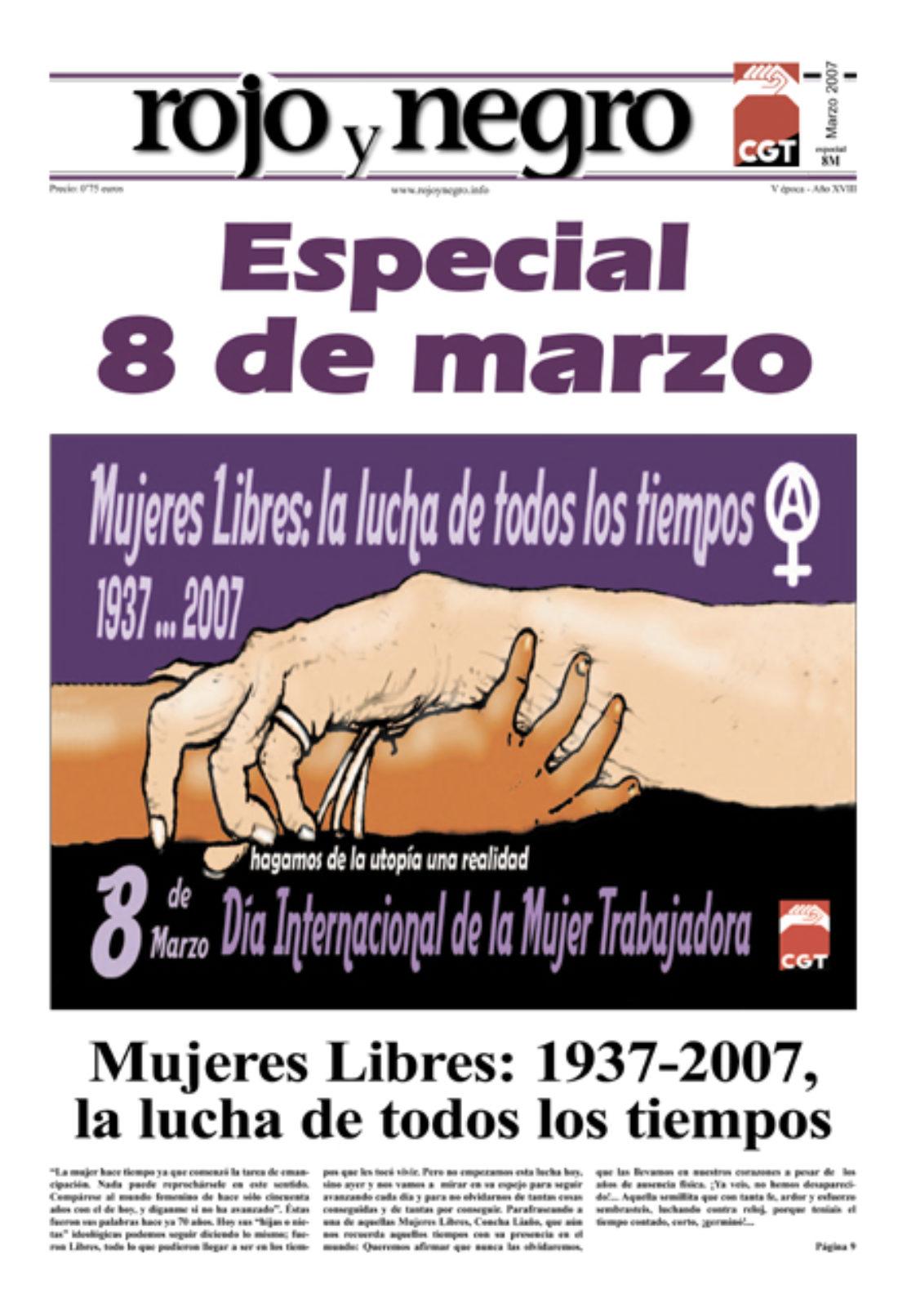 Rojo y Negro. Especial 8 de marzo 2007