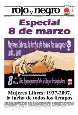 Rojo y Negro. Especial 8 de marzo 2007 - Imagen-1