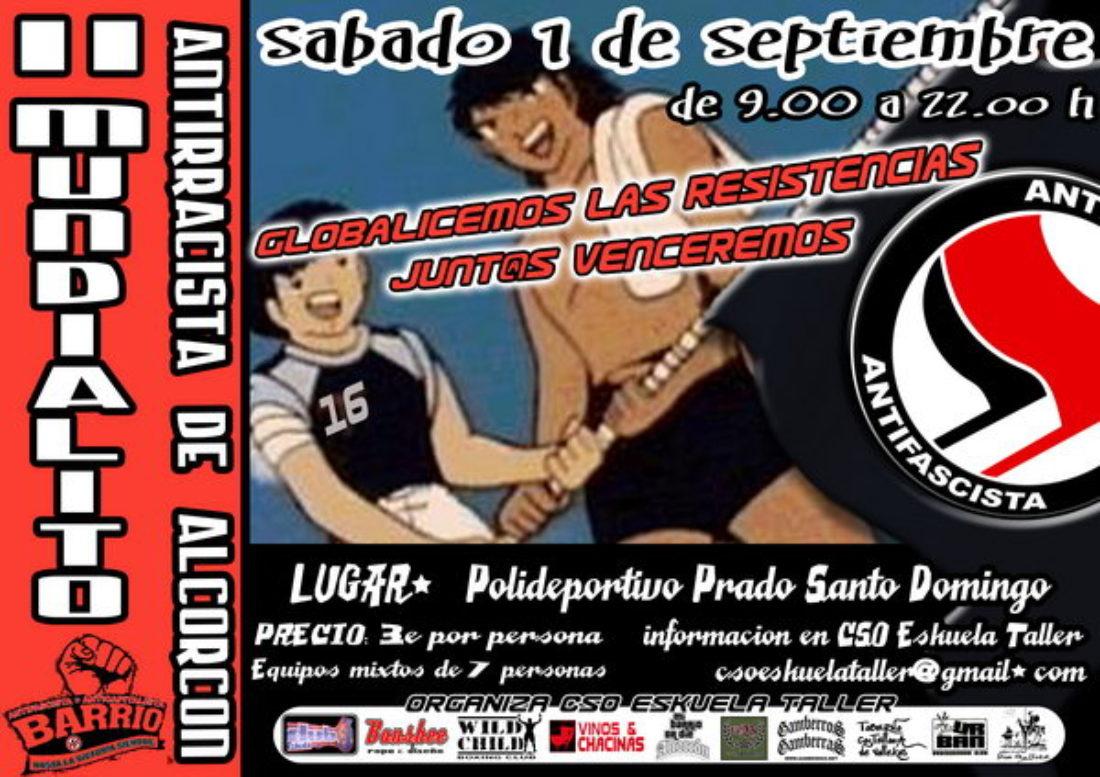 II Mundialito Antirracista de Alcorcón. Sábado 1/Sept/2007