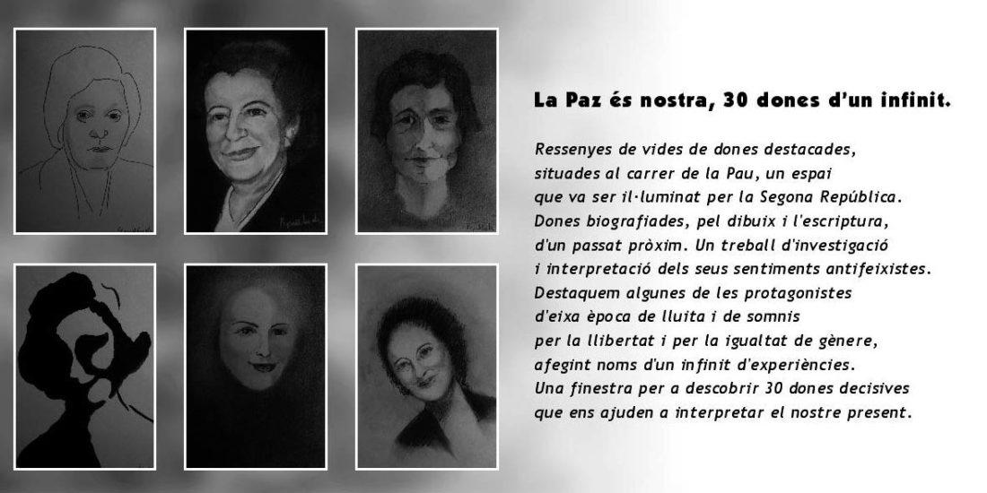Valencia, 14 diciembre. Presentación del libro «La paz es nuestra, 30 mujeres de un infinito», de Cristina Escrivá