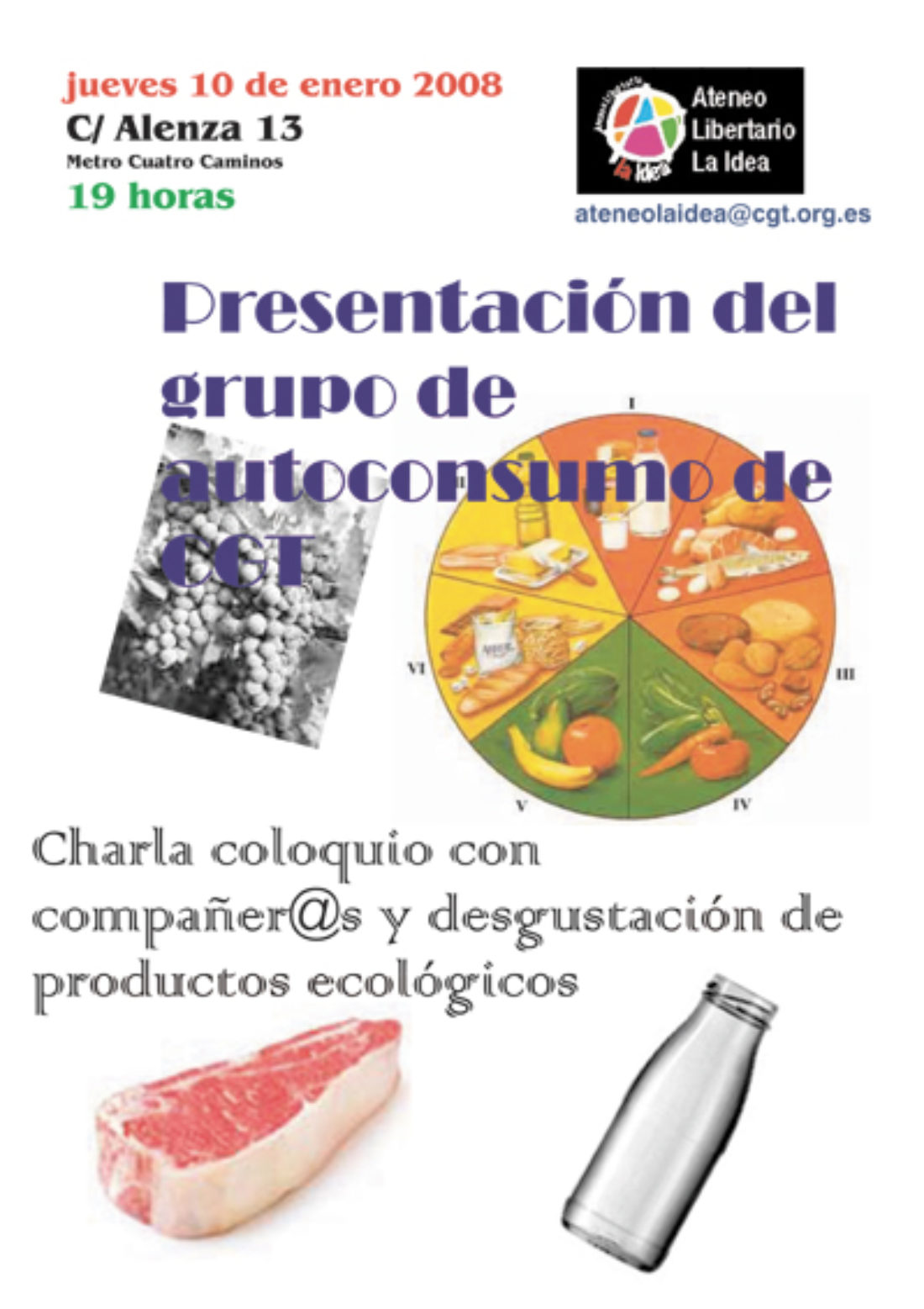 Madrid, 10 de enero: presentación del grupo de autoconsumo de CGT