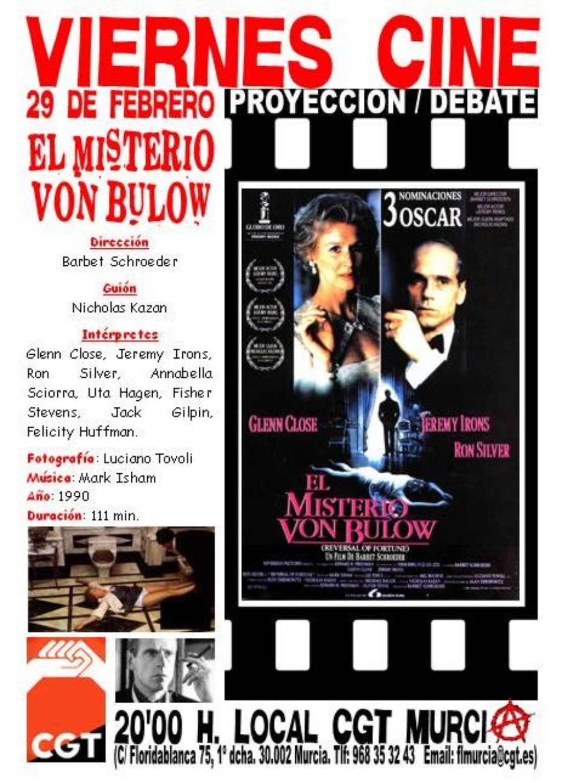 Murcia. Viernes Cine