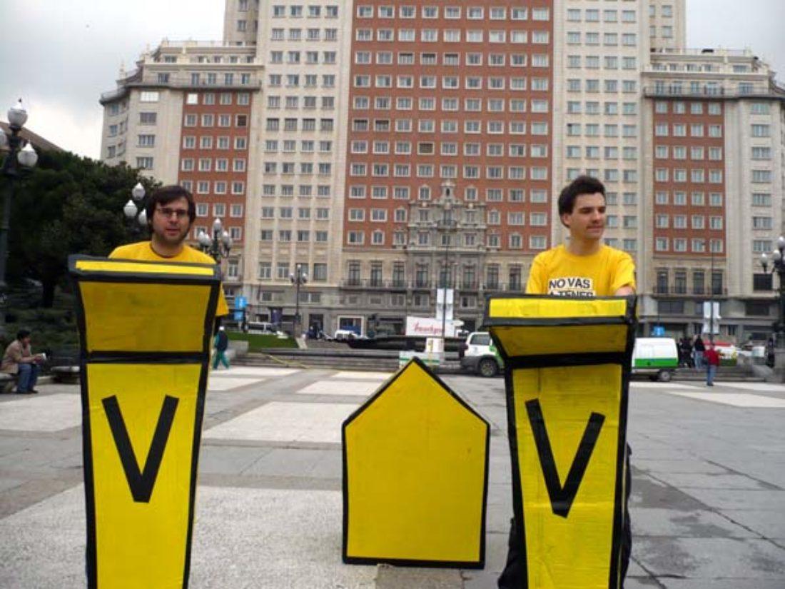 Manifestación por la vivienda digna hoy, 1 de marzo, en Madrid