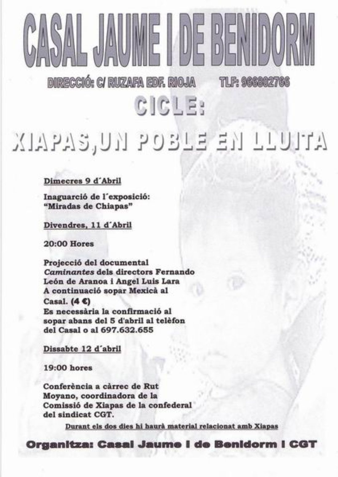Cicle: Xiapas, un poble en lluita
