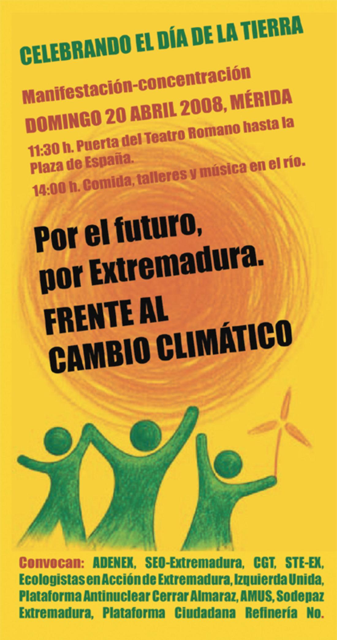 Mérida: 20 abril 2008, Día de la Tierra