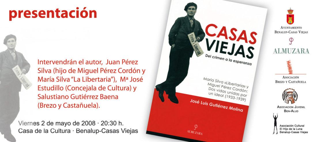 Presentación libro «Casas Viejas» en esta localidad
