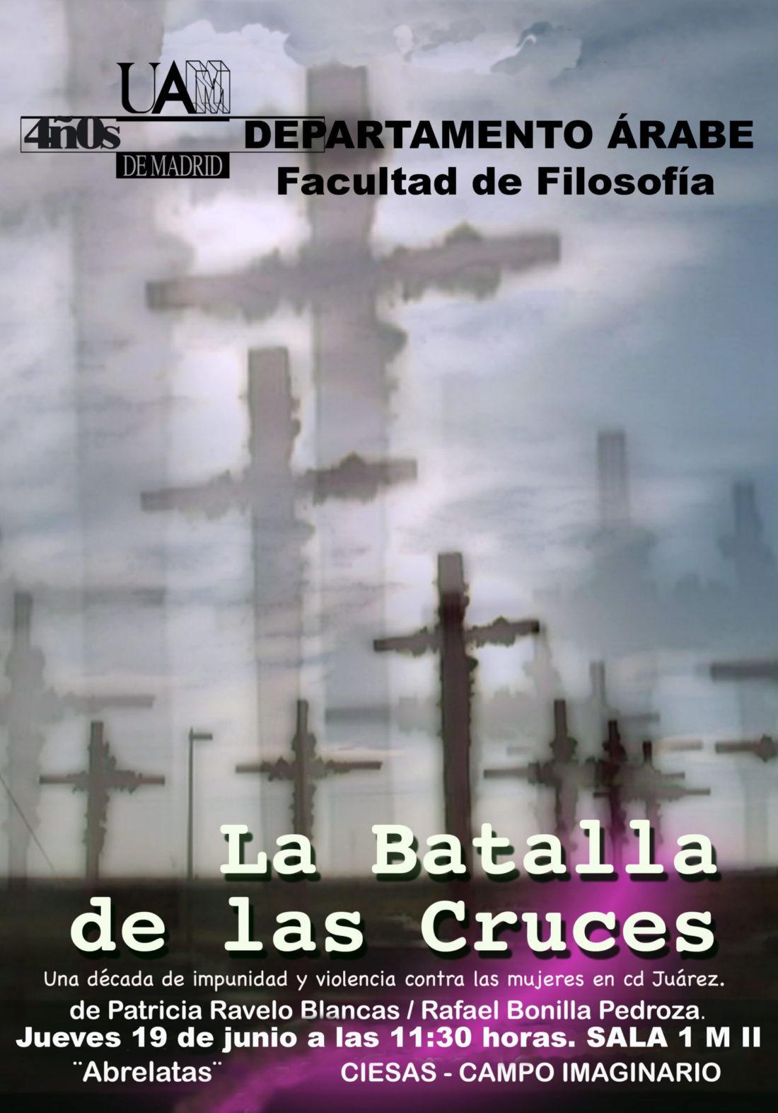Madrid, 19 de junio: presentación en la UAM del documental «La batalla de las Cruces»