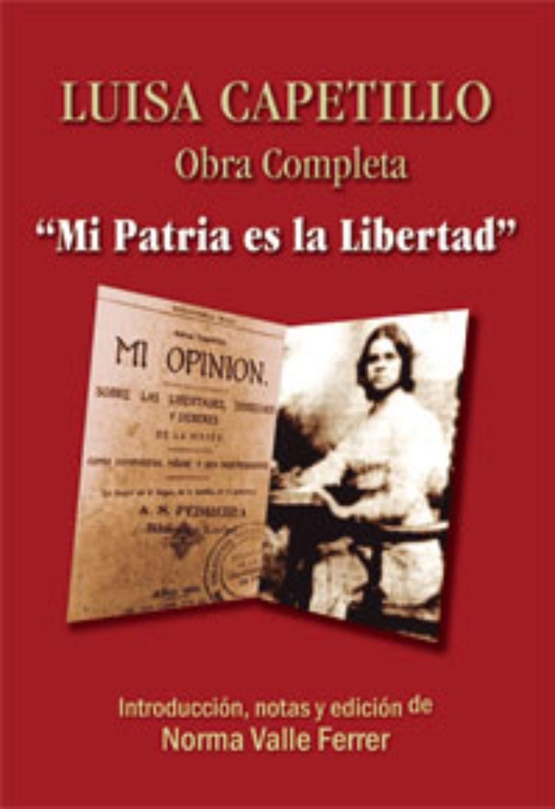 [LaMalatesta] Presentación del libro: Luisa Capetillo. Mi patria es la libertad