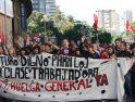 Málaga: Casi un millar de universitarios se manifiestan al grito de 'No a Bolonia'