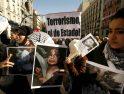 Imágenes de la manifestación en Madrid en apoyo al pueblo palestino