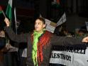 Imágenes de la manifestación en solidaridad con el pueblo palestino el pasado sábado en Valladolid