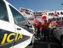 2.000 jardiner@s de Madrid toman la calle por un convenio mejor