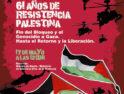 Madrid: manifestación contra «61 años de ocupación israelí, 61 años de apartheid, limpieza étnica»
