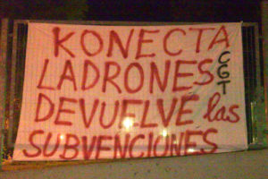 La plantilla de Konecta BTO secunda la jornada de huelga