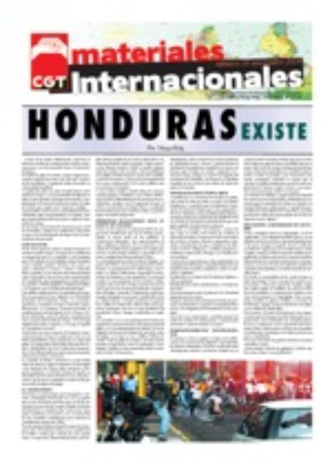 Materiales Internacionales 18: Honduras existe