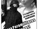 18 marzo, Pamplona: ¡Fuera paramilitares de Chiapas!