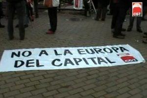 Videos «CGT planta cara en La Granja Segovia a la Europa del capital»