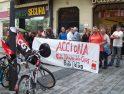 Pamplona: Concentración punto negro venta de EHN a Acciona