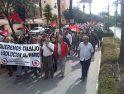 Los Barrios: 500 personas se manifiestan contra el paro y la crisis