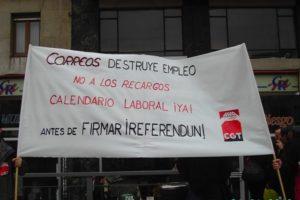 Huelga Correos: Datos de Asturias (21 abril)
