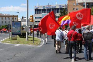 1º de mayo en Huelva: No al robo empresarial