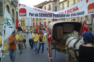 Huelga de Correos: Datos movilizaciones en Huesca (20 mayo)