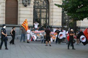 Zaragoza: La Delegación de Gobierno permite concentración nazi (26 junio)