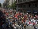 8J en Barcelona: Se manifiestan más de 1.500 trabajadores