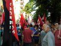 Cáceres: CGT se concentró en contra la reforma laboral y el recorte de derechos (30 junio)