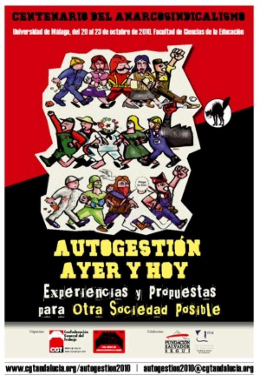 «Autogestión Ayer y Hoy» – Centenario del Anarcosindicalismo