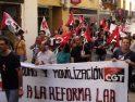 Seguimiento de la Huelga General en Cáceres