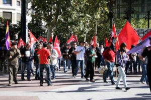 Manifestación 29S en San Sebastián-Gipuzkoa