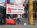 Algeciras: Mesa informativa de CGT de la Huelga General