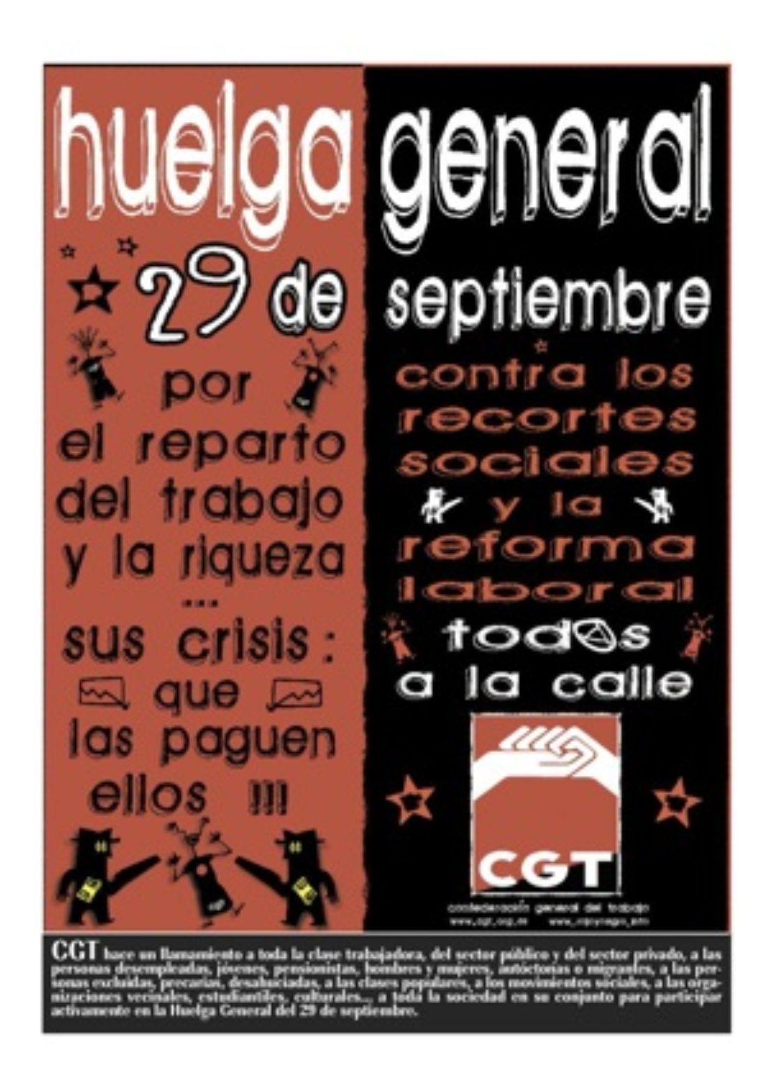 Especial Huelga General 29S