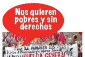 300 vecinos de la comarca se concentran para apoyar a los mineros encerrados en Velilla (Palencia) por impago de salarios