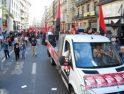 Barcelona: La concentración de la mañana se convirtió en manifestación piquetera