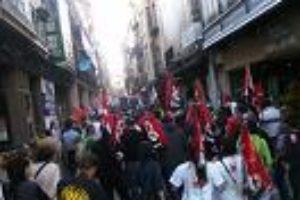 Amplio seguimiento en Soria de la huelga general