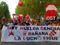 Valladolid: 5.000 manifestantes con la CGT