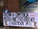 Oviedo: Los despedidos de La Competencia siguen en lucha