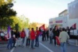 Segovia: la CGT contribuye al éxito de la huelga