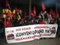 [Fotos] Manifestación Huelga de Telemárketing (11nov) en A Coruña