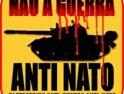 Concentración en protesta por el cierre de la frontera portuguesa durante la cumbre de la OTAN