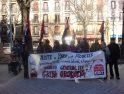 Concentración de CGT Nafarroa hacia la huelga general