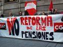 Concentración de CGT Cantabria contra la reforma de las pensiones (24 enero)