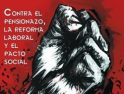 CGT se moviliza el 27 de enero contra la reforma de las pensiones, la reforma laboral y el pacto social