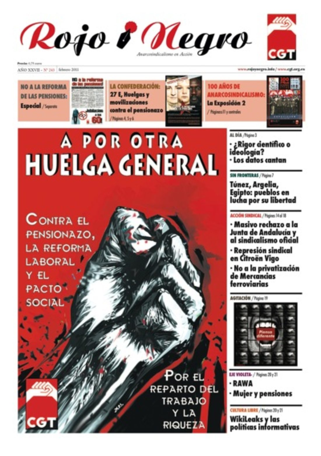Rojo y Negro 243 – febrero 2011