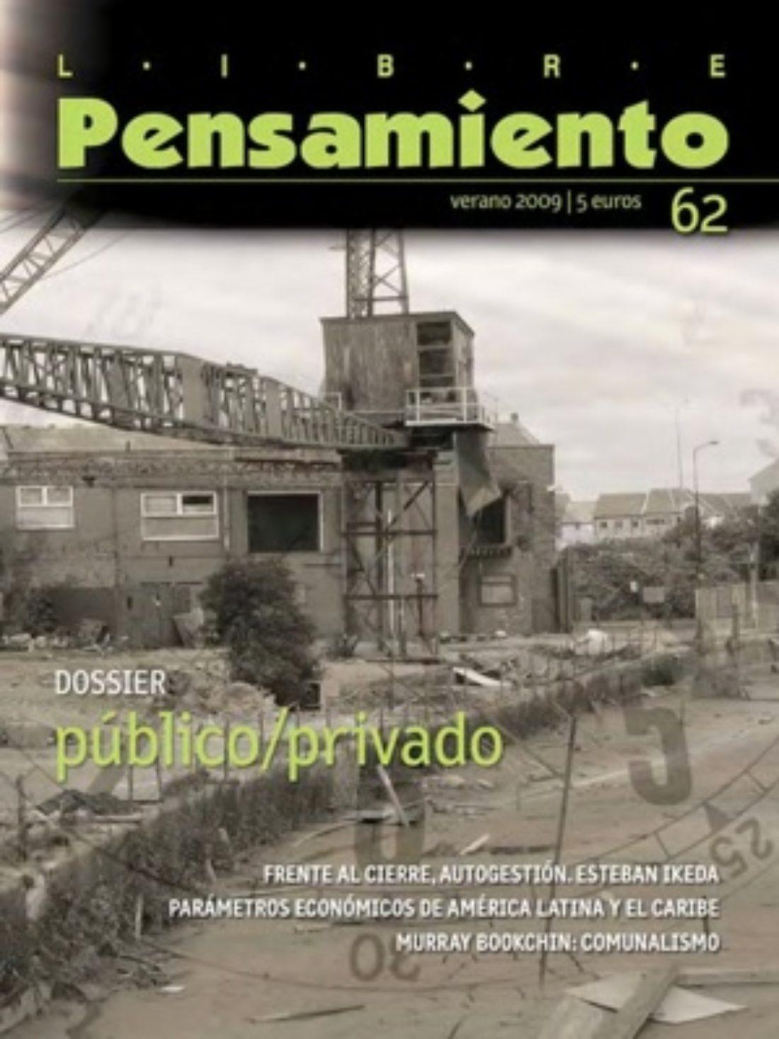 Libre Pensamiento 62 – Otoño 2009