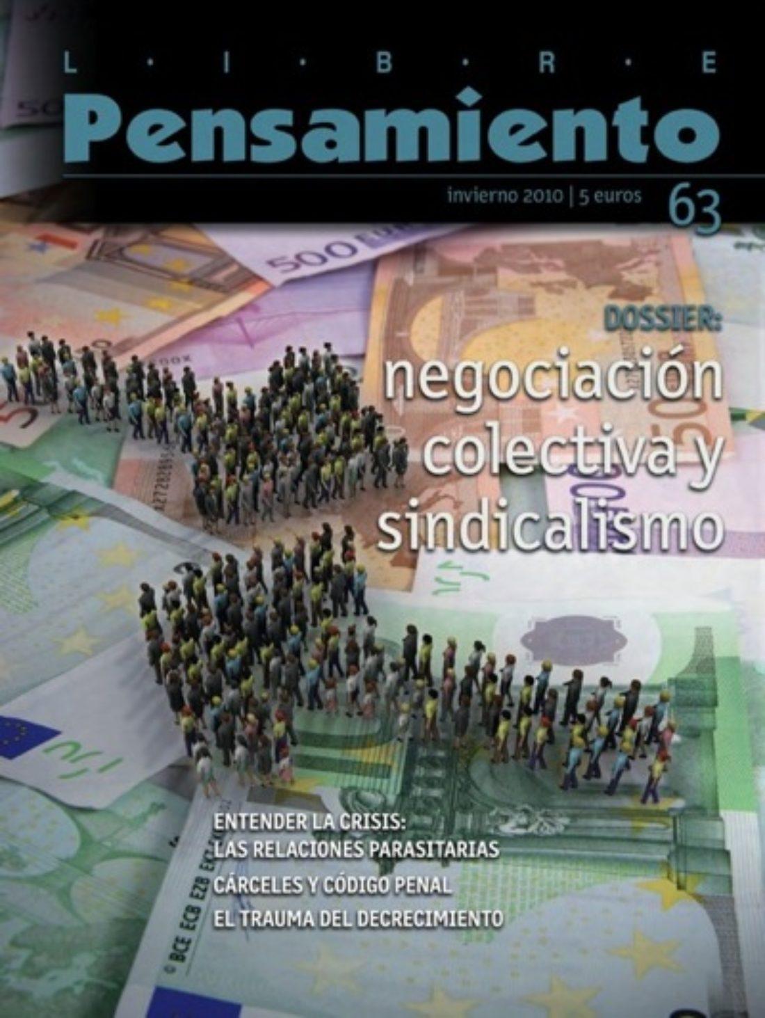 Libre Pensamiento nº 63 – Invierno 2010