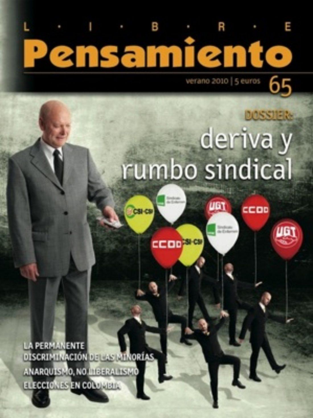 Libre Pensamiento nº 65 – Verano 2010