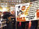 Los recortes unen por primera vez en una manifestación a trabajadores de FGV y EMT